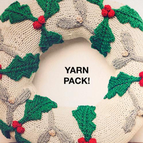 Knitmas Wreath Advent Calendar Yarn Pack