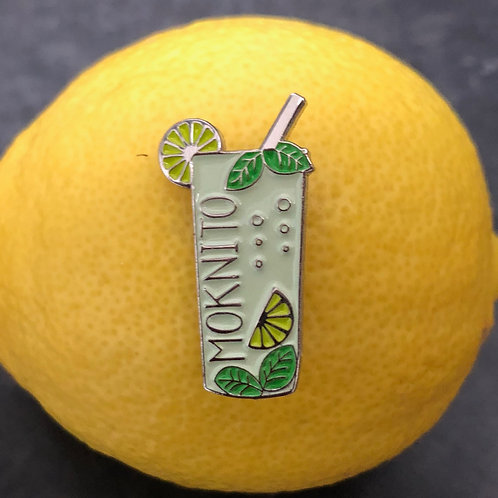 Moknito pin badge