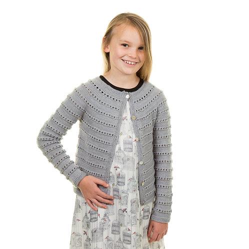 Line Dried Mini Me cardigan pattern