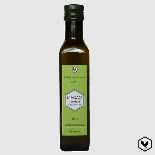 Льняное масло сыродавленное