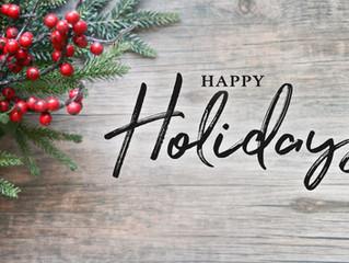Holiday Season & Self Care