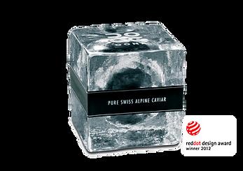 Oona Swiss Apline Kaviar Tropenhaus Frutigen verpackungsdesign prodktion produktdesign