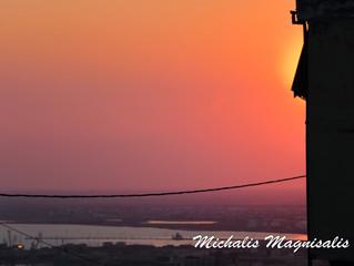Απρίλιος 2019 - Ηλιοβασίλεμα από τα Κάστρα.