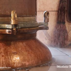 """Παραδοσιακά τσιπουροκάζανα...και το """"Δάκρυ της Παναγίας""""."""