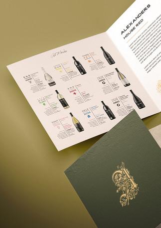 Wine booklet