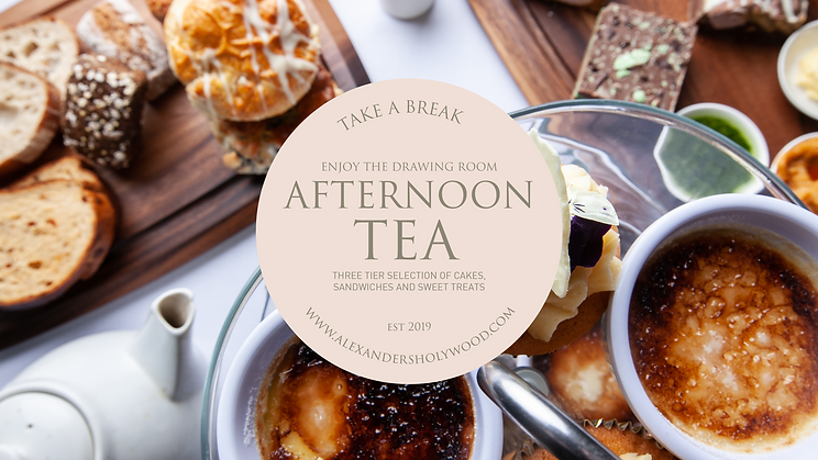 afternoon tea in holywood