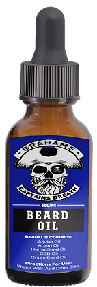 """Captains Breath"" (1 oz) Beard Oil"
