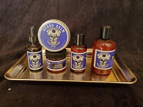 """""""Captain's Breath""""Beard Oil, Beard Butter, Beard Jamm, Beard Balm & Beard Shampo"""