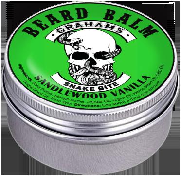 """""""Snake Bite"""" (3 oz) Beard Balm"""
