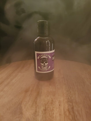 "4 oz Beard shampoo ""smoked out"" Graham's cologne"