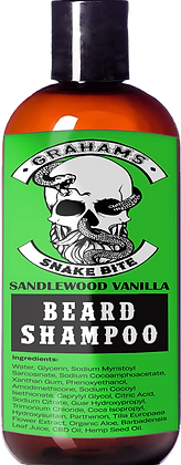 """Snake Bite"" (4 oz) Beard Shampoo"