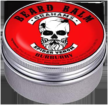 """Spider Venom"" (3 oz) Beard Balm"