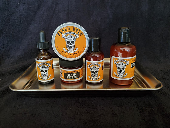 """""""Wolf Vain"""" Beard Oil, Beard Butter, Beard Jamm, Beard Balm & Beard Shampoo"""