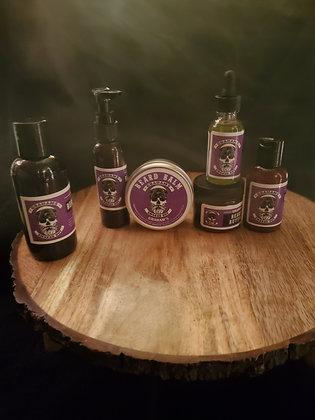 Shampoo, butter, balm, oil, JAMM & 3-in-1 beard grease oil  Graham's cologne