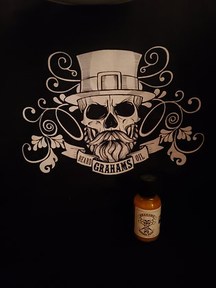 "Barbershop beard JAMM oil love barber ""Sandlewood bourbon cologne"""