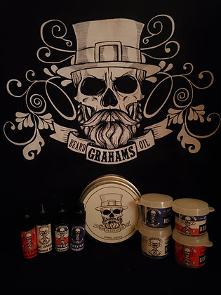Barbershop sample pack oil and butter