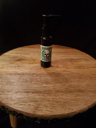 "2 oz 3-in-1 beard grease oil  - ""snake bite"" Sandlewood vanilla"