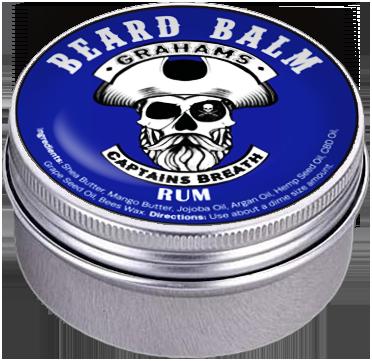 """Captains Breath"" (3 oz) Beard Balm"