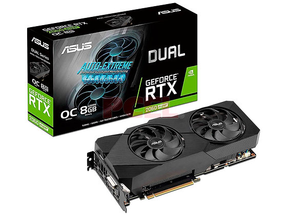 ASUS RTX 2060 SUPER DUAL EVO 8GB DDR6