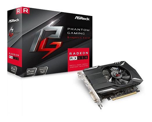 ASROCK PHANTON GAMING RX 550 2GB DDR5
