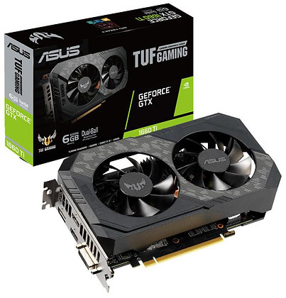 ASUS GTX 1660 Ti TUF GAMING 6GB DDR5