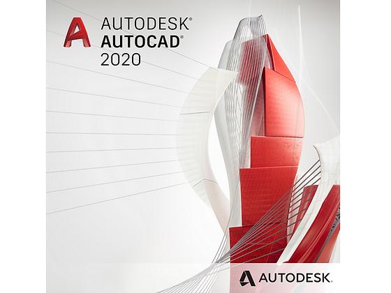 AutoCAD 2020 suscripción 3 años