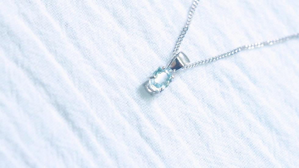 Dew pendant necklace