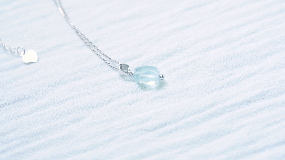 Icy drop necklace