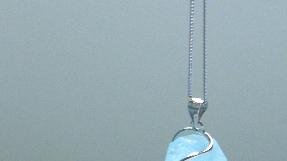 Hail pendant necklace