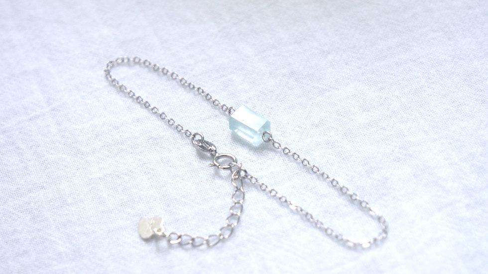 Icy chain bracelet
