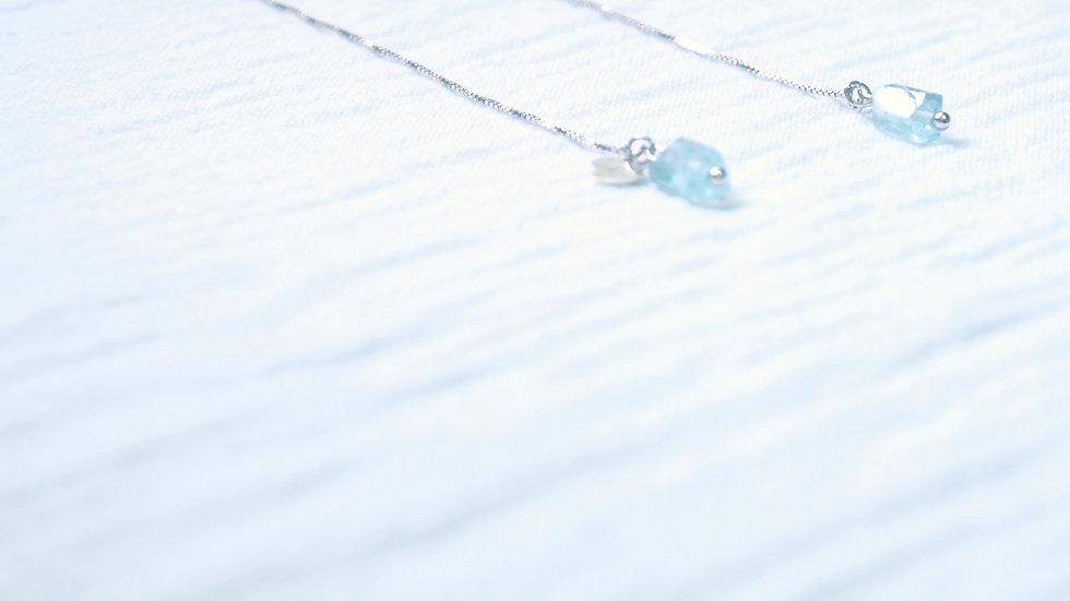 Icy drop earrings (clip-on option avaliable)