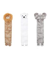 Presley the Lion, North the Polar Bear & Arlo the Elephant