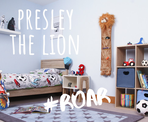 Presley the Lion