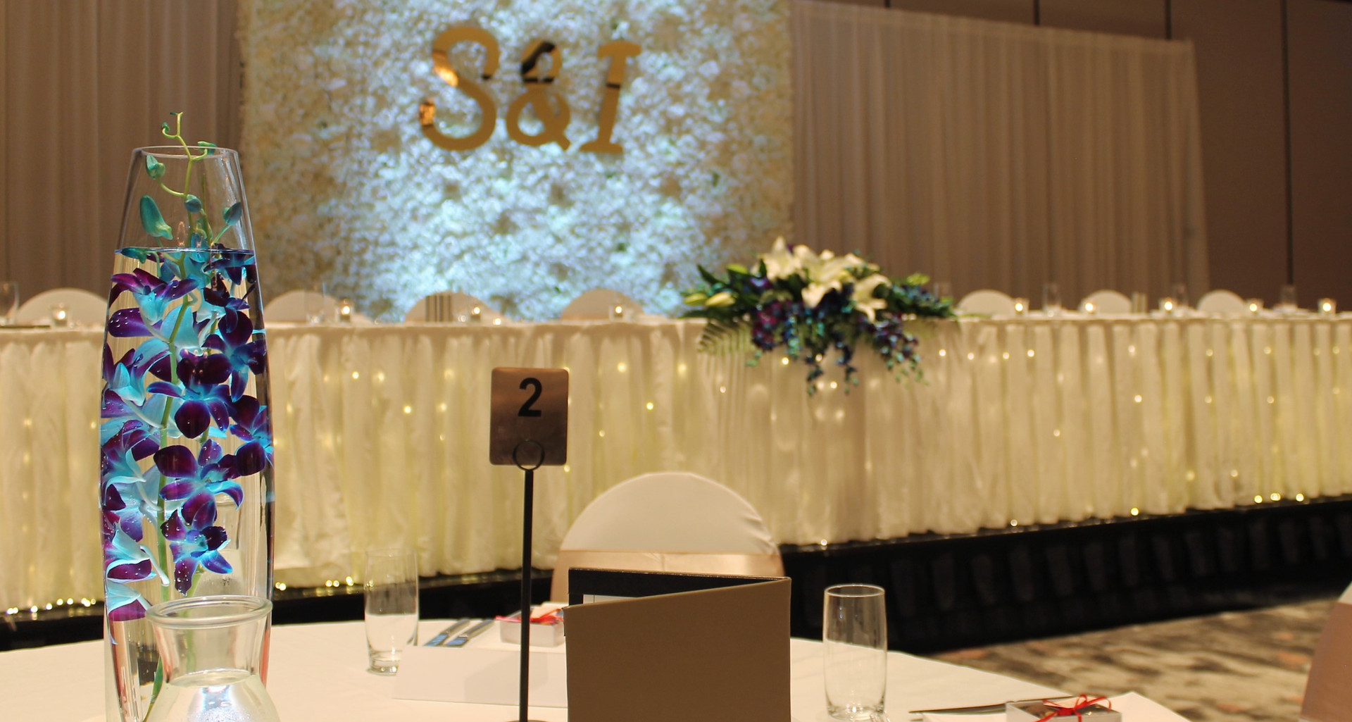 Wedding Reception Styling