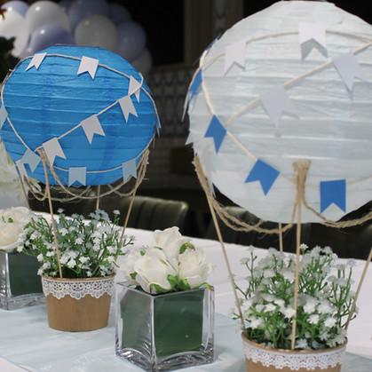 Whimsical Hot Air Balloons
