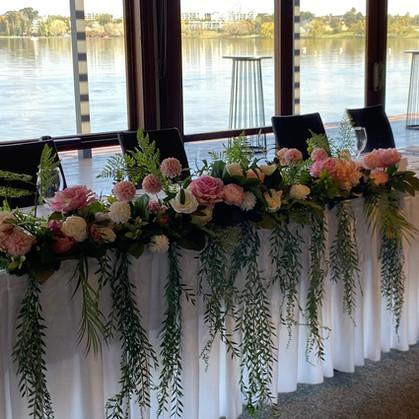 Bridal Table Floral Arrangement