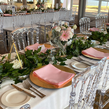 Birthday Party Styling/Decor at the Yacht Club Canberra