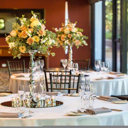 Fresh Floral Wedding Centrepiece