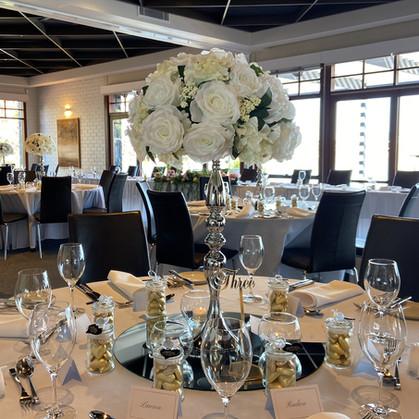 Flower Pedestal Wedding Centerpiece