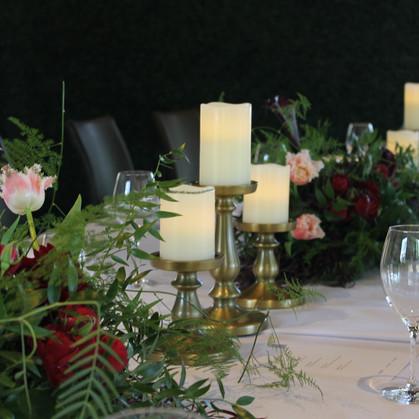 50th Birthday Luncheon Styling/Decor