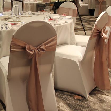 Blush Pink Chair Sashes