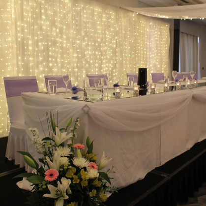 Traditional Bridal Table Styling