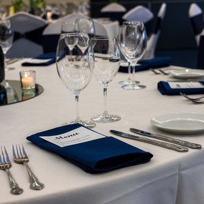 Modern Guest Table Place Settings