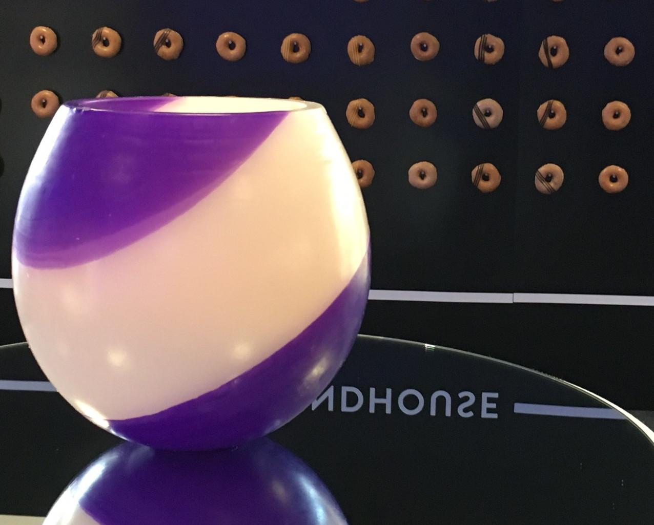Wax Lantern Centrepiece