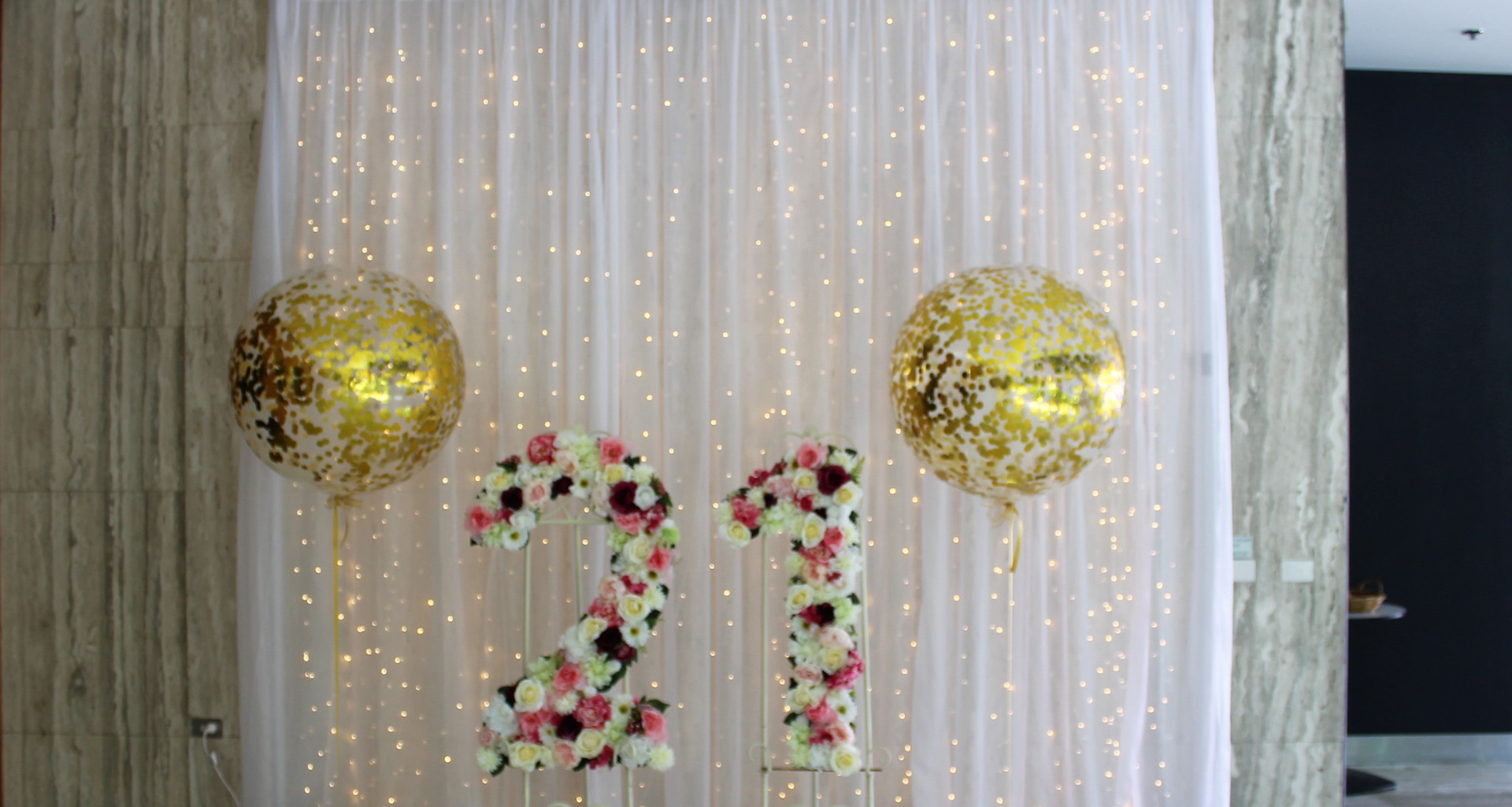 Fairy Light Photo Backdrop