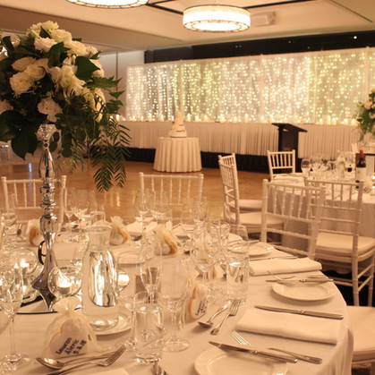Traditional Wedding Room Styling