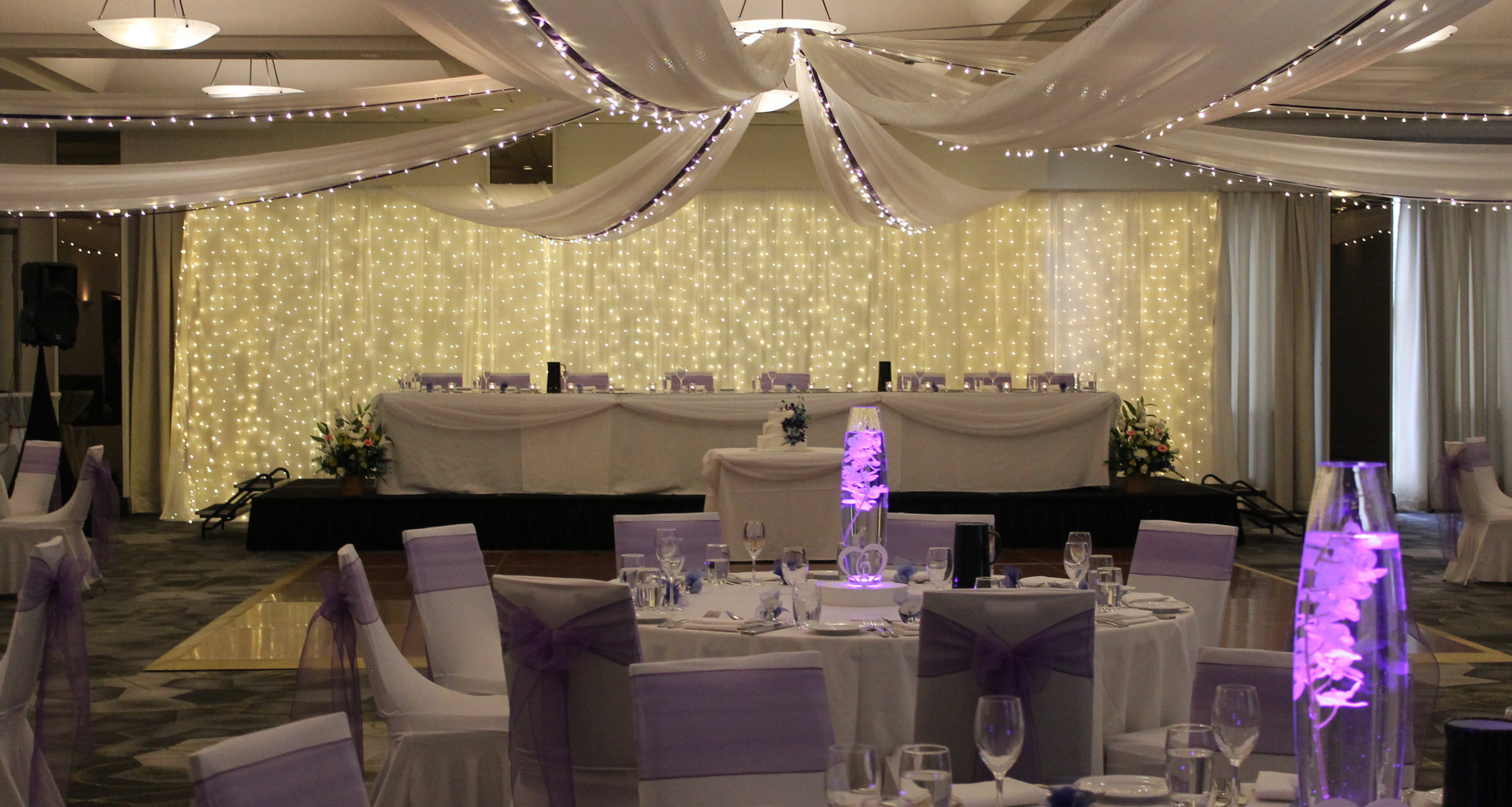 Traditional Wedding Reception Styling