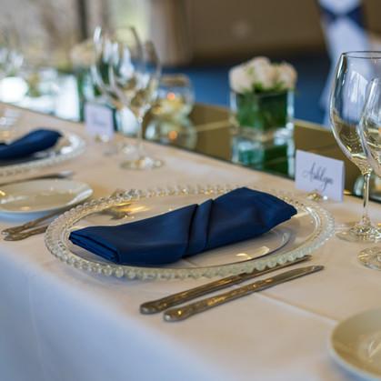 Modern Bridal Table Setting