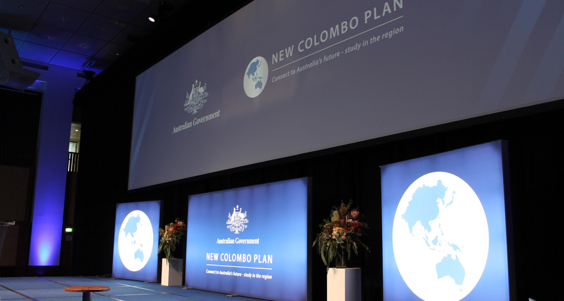 New Colombo Plan Stage Set