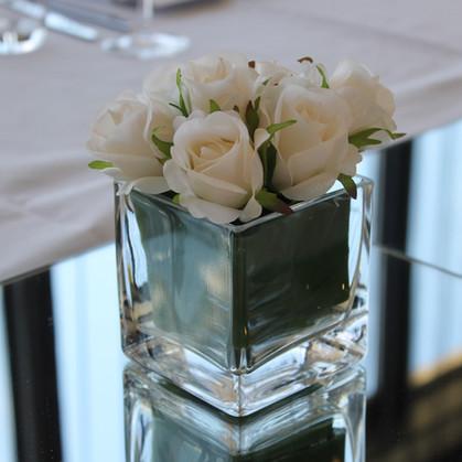 Rose Cube Centrepiece
